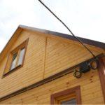 Как выполнить прокладку кабеля по фасаду здания?