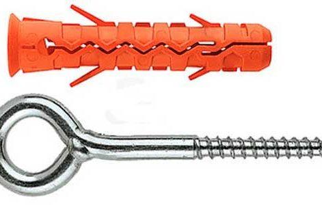 шуруп-крючок для креплени кабеля