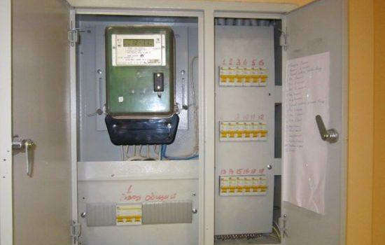 электрощит с автоматами