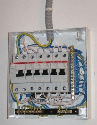 подключение проводов в щитке