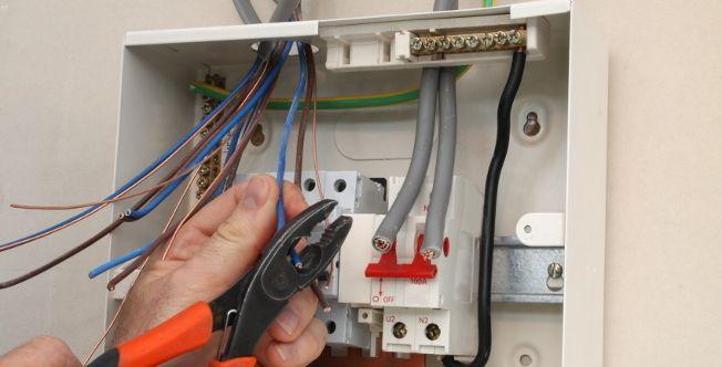 монтаж электроитка медными проводами