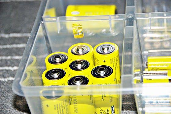 Проверяем батарейки