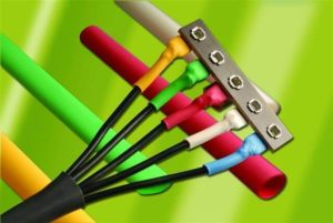 провода с термоусадочными трубками