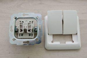 выключатель на две клавиши