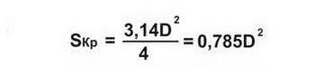 Определение сечения провода по формуле