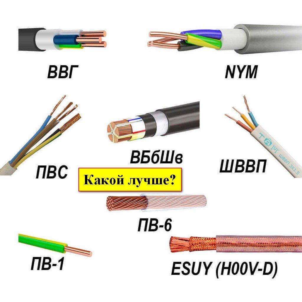 Какой провод лучше для проводки в квартире или доме