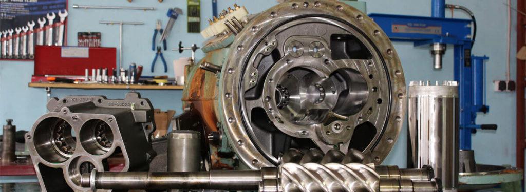 Особенности технического обслуживания винтовых компрессоров
