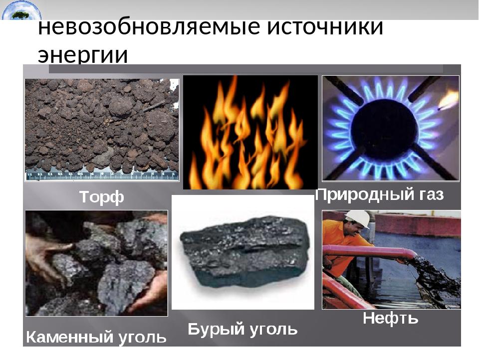 Какие существуют альтернативные источники энергии.